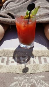 Bloody Mary on Grills Deck