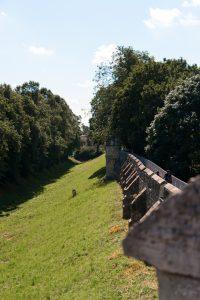 York 18 - Ancient Wall and Mote