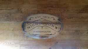 York 29 - Nicholson's Pub badge