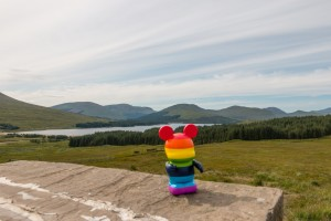 Rainbow Mickey at Loch Tulla Viewpoint