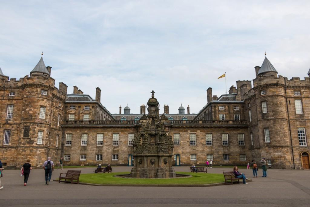 Palace at Holyrood