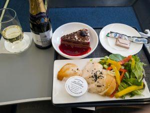 BA Cityflyer Club Europe Meals