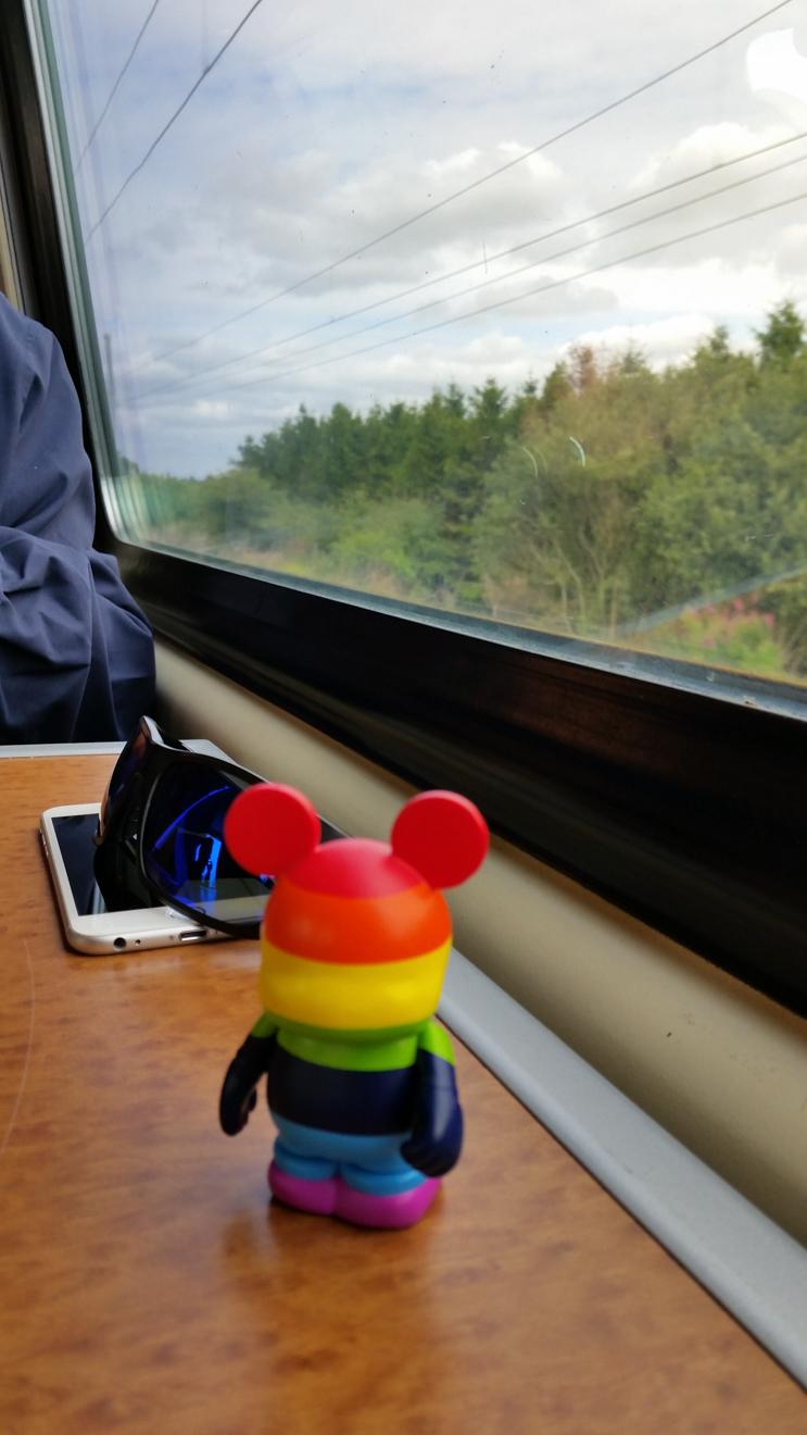 Onward 15 Train to Glasgow