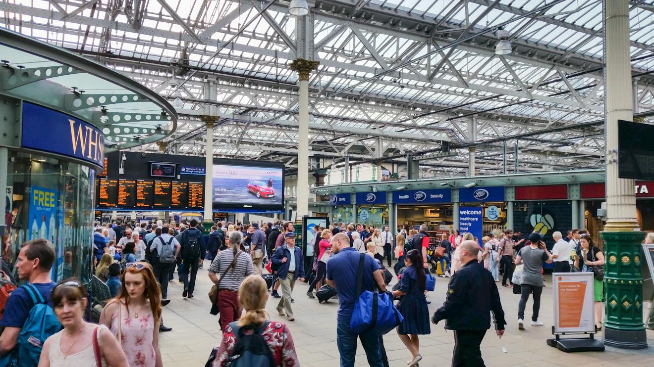 Onward 32 Edinburgh Station