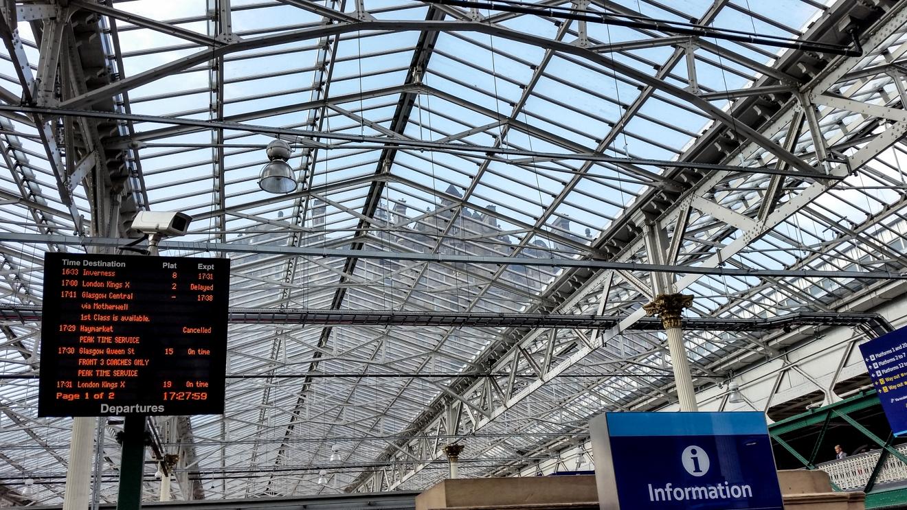Onward 33 Edinburgh Station