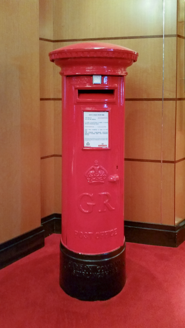 QM2 - Night Mailbox