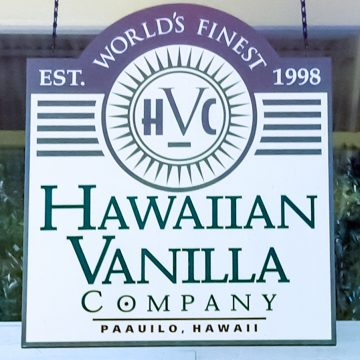 Hawaii, Hawaiian Vanilla Co, North America, USA, Vanilla