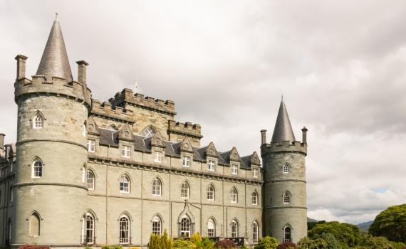 DPF, Europe, Inveraray, Inveraray Castle, Scotland, UK