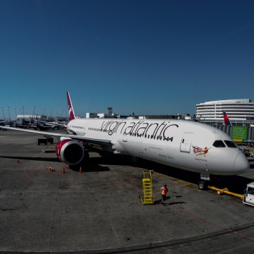Airplanes, Airports, Planes, Seatac, Sky Club, VIrgin Atlantic