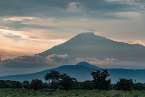 Africa, Mt Meru, Tanzania