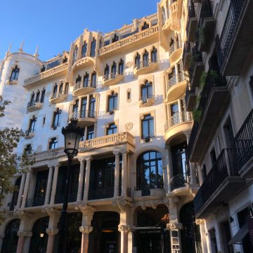 Barcelona, Europe, Hotel Casa Fuster, Spain