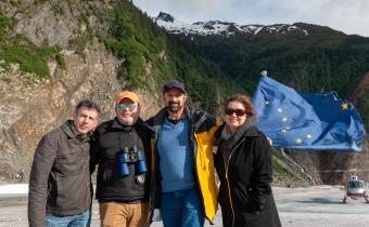 Alaska, Mendenhall Glacier, Tremsco Helicopter Tours