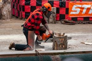 Alaska, Great Alaskan Lumberjack Show, Ketchikan